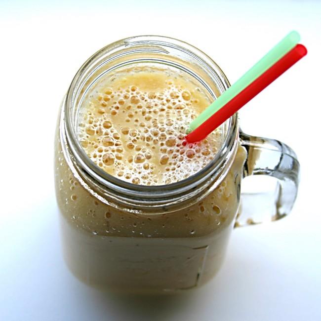 Banaan peer smoothie Healthiness