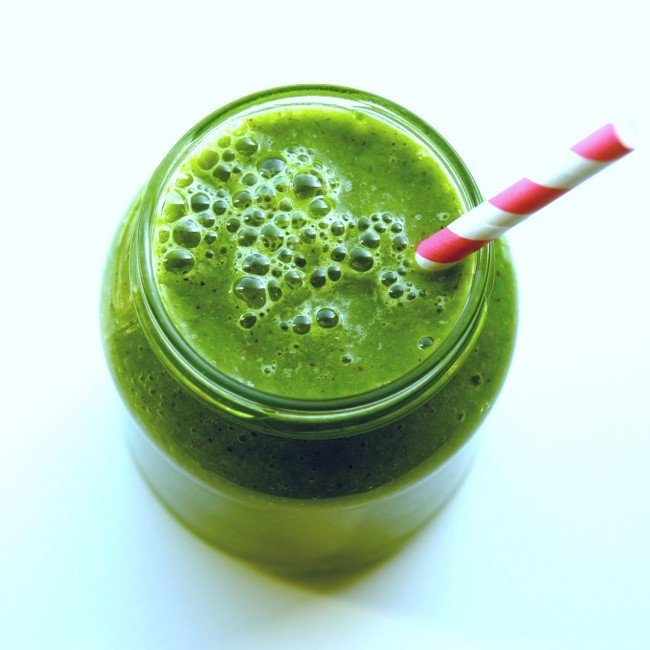 Banana & Spinach smoothie