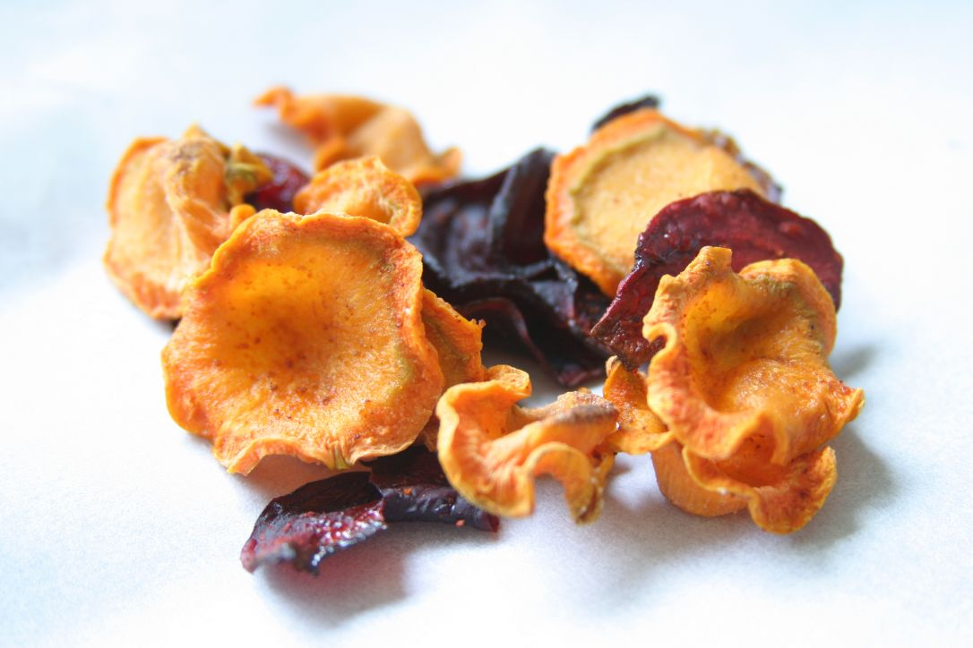 Groentechips uit de oven Healthiness