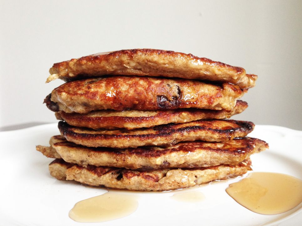 Havermout pancakes Healthiness