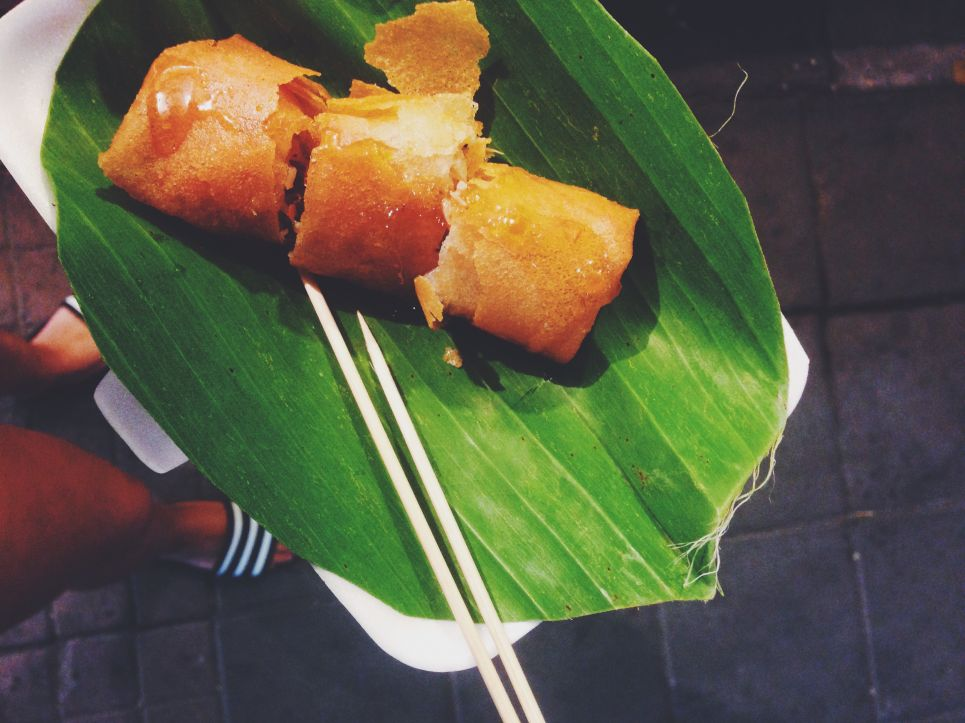 Thaise loempia snack Healthiness