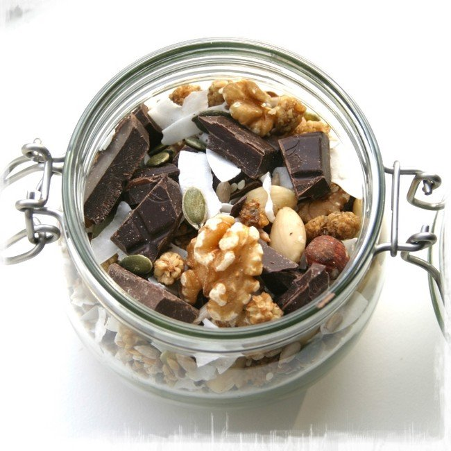 Trail mix Healthiness