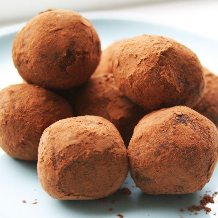 Chocoladetruffels Healthiness online