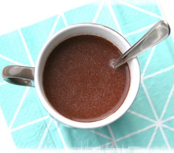 Gezonde chocolademelk Healthiness