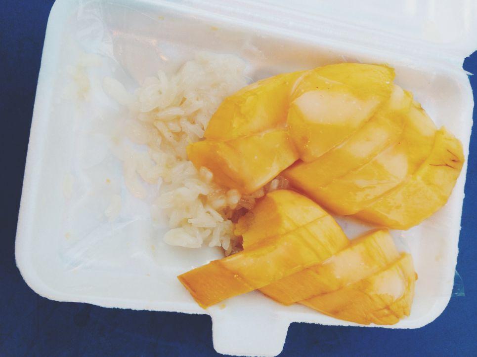 Mango stickie rice Healthiness online