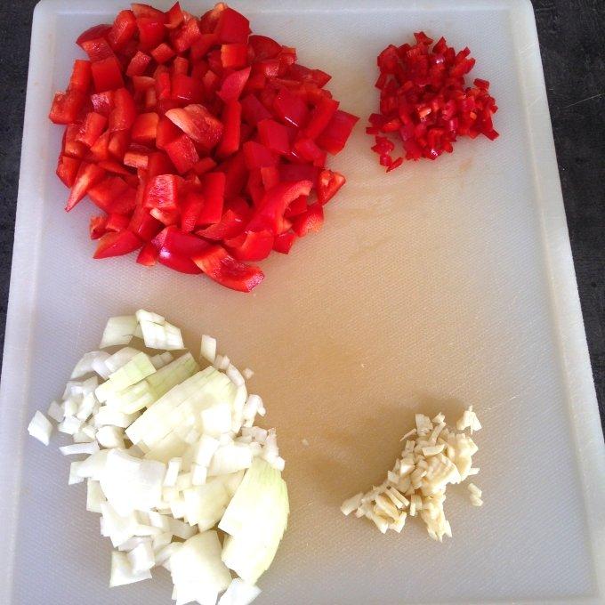 Groenten paprika linzensoep Healthiness