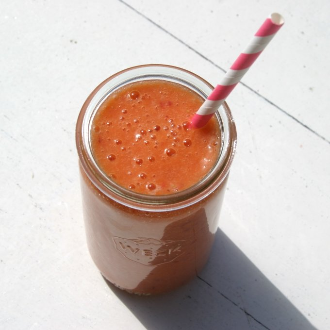 Fruit explosion smoothie Healthiness