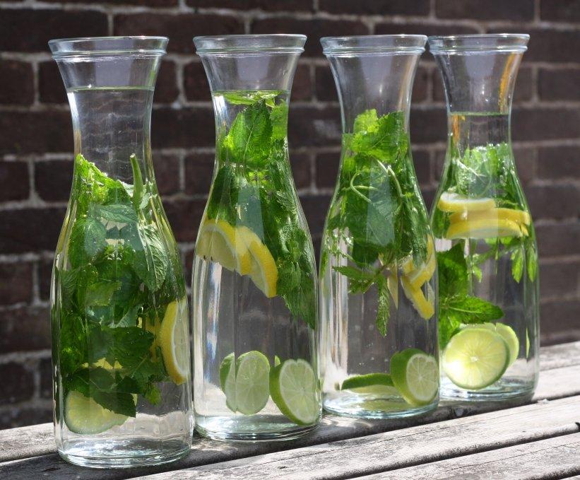 Water met een smaakje Healthiness