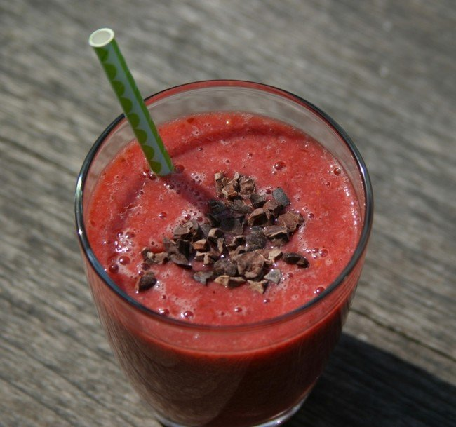 Sporty smoothie Healthiness