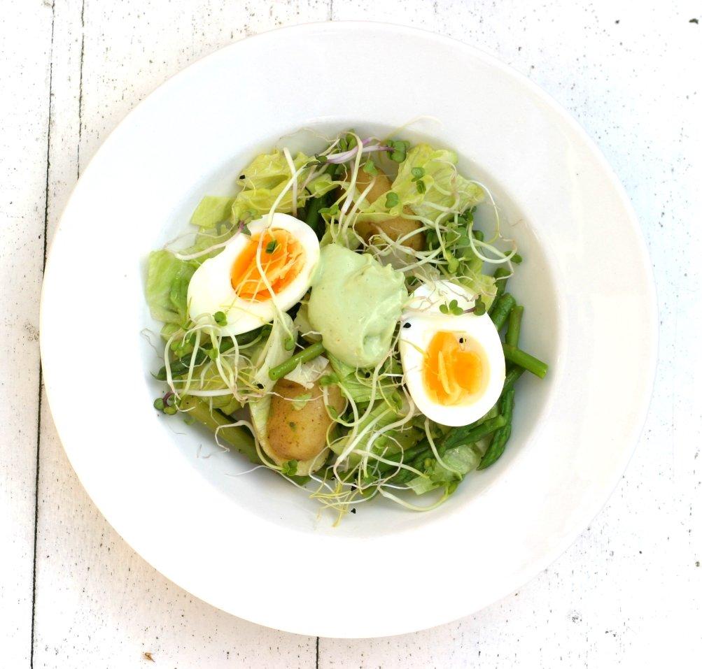 Kookworkshop 'Snelle (maaltijd) salades' 26 oktober 2016