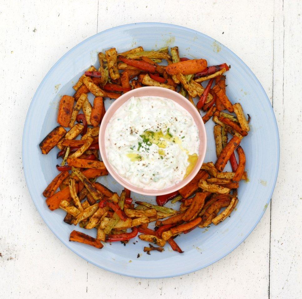 Mijn favoriet: 'Groentefriet met tzazikidip'
