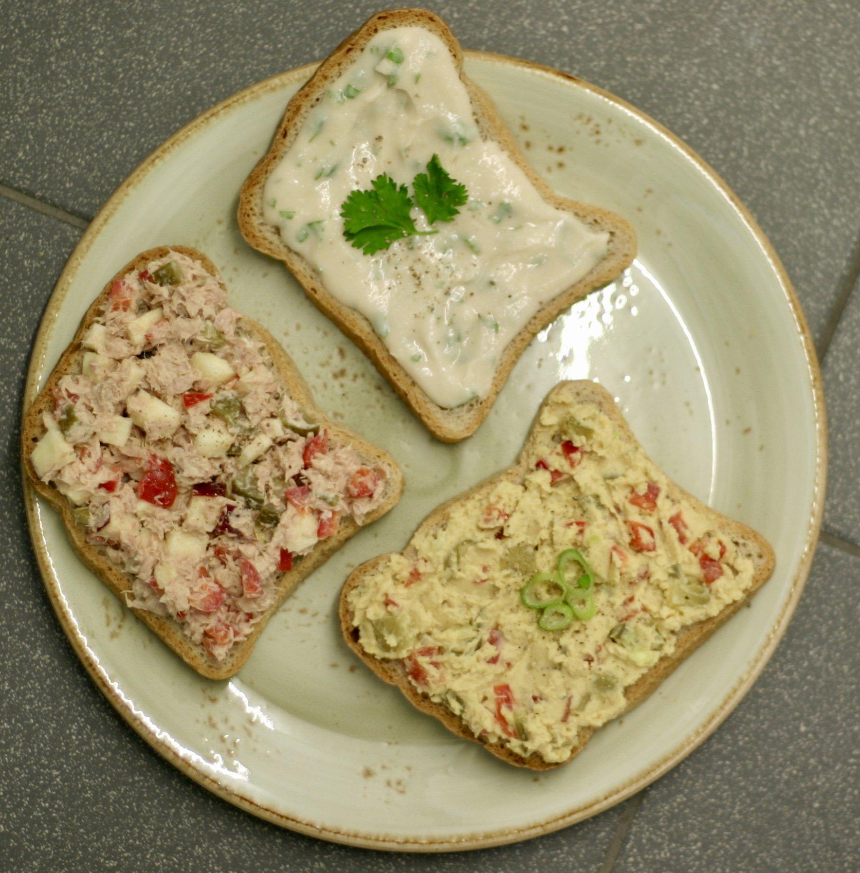 Homemade tip: 3x gezond broodbeleg